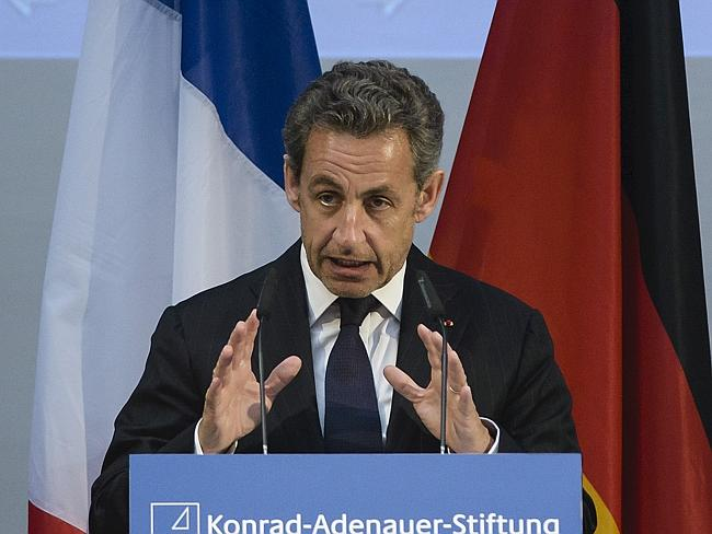 Tangled web...Former former French president Nicolas Sarkozy is embroiled in a new scandal, for allegedly attempting to pevert the course of justice. Picture: AFP