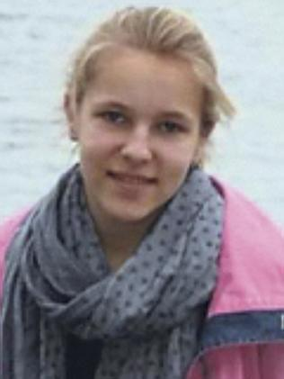 Missing ... Ambre-Waterloos, a 14-year-old student.