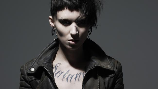 Rooney Mara in the The Girl with the Dragon Tattoo.