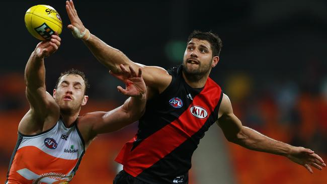 Patrick Ryder is in contract and having one of his best AFL seasons. Picture: Toby Zerna