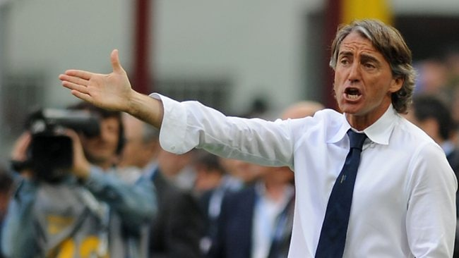 Roberto Mancini is frustrated by constant questions about his future at Manchester City.