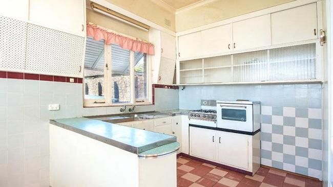 The kitchen of 1 Wells Avenue, Tempe, which sold for $1.21 million.