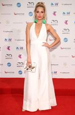 Nat Conway arrives on the red carpet for the 30th Annual ARIA Awards 2016 at The Star on November 23, 2016 in Sydney, Australia. Picture: Getty