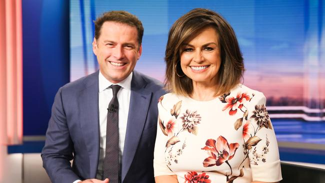 Lisa's co-host Karl earnt more than her at Channel Nine.