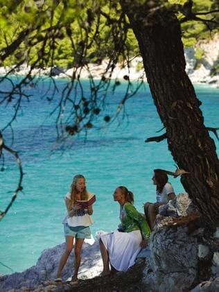 Shooting at Skopelos for Mamma Mia!