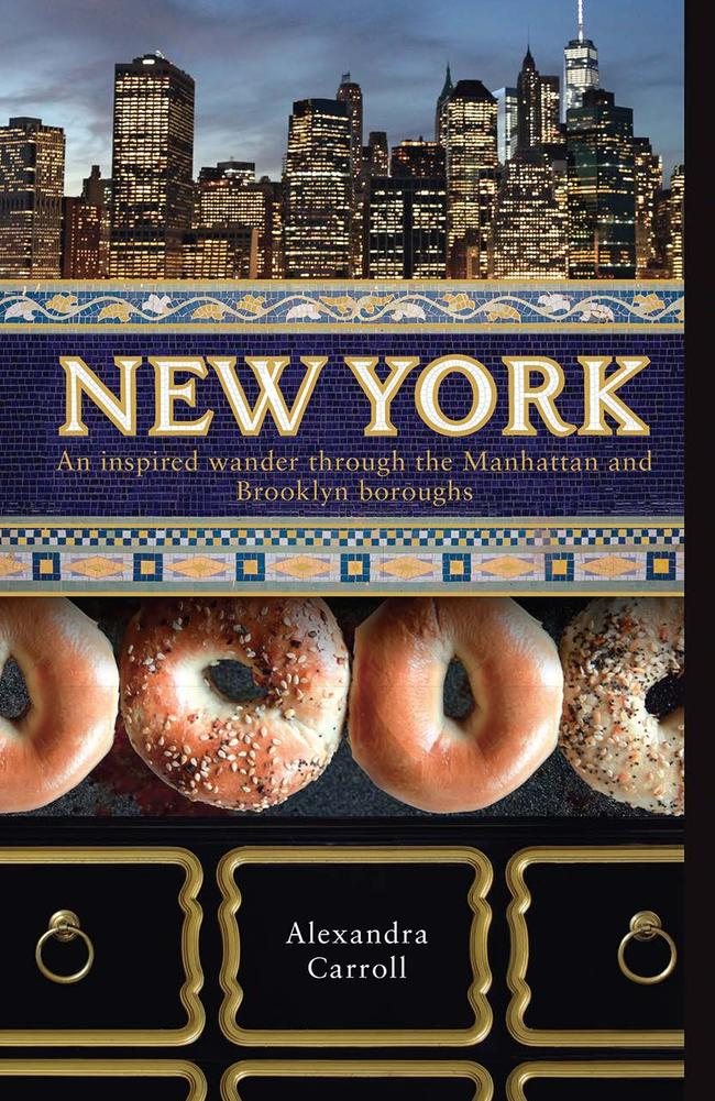 Alexandra Carroll is the author of the recently released New York: An inspired wander through the Manhattan and Brooklyn boroughs.