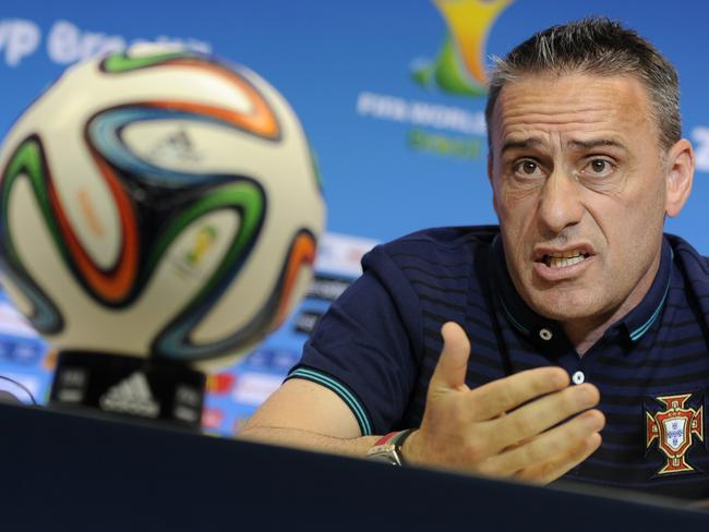Portugal's head coach Paulo Bento.