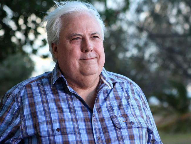 Roadblock, or fact of life? ... MP Clive Palmer. Picture: Jono Searle