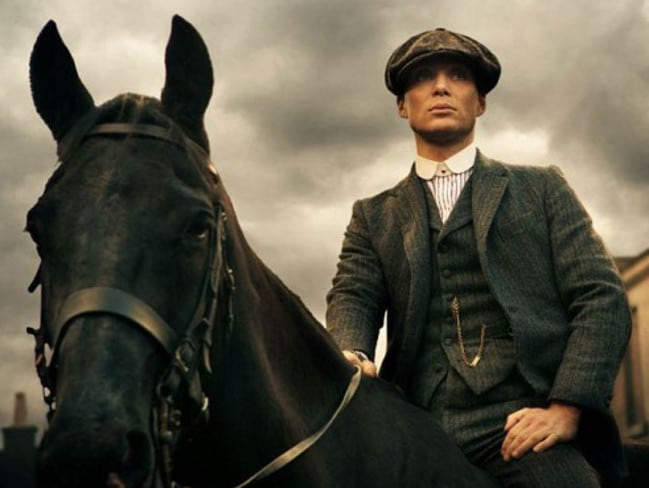 Cillian Murphy stars as Thomas Shelby in  <i>Peaky Blinders</i>. Picture: Robert Viglasky / Supplied