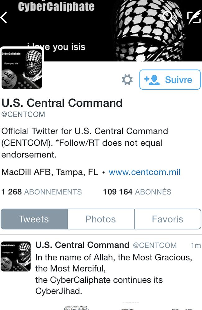 Last year's embarrassing hack by ISIS sympathisers of US Central Command's Twitter account page was nothing compared to the cyberespionage capabilities of the Russian and Chinese governments