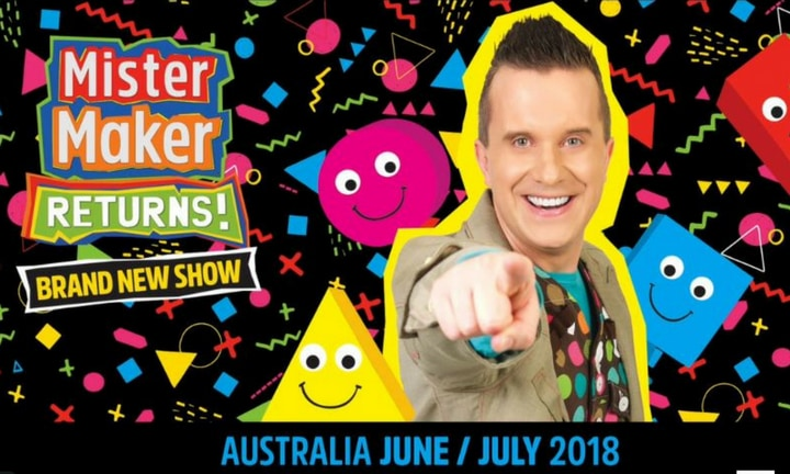 Get ready to get arty! Mister Maker is coming back to Australia