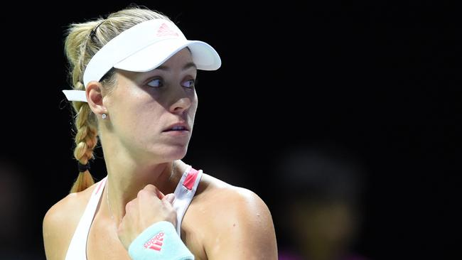 Germany's world No.1 Angelique Kerber.