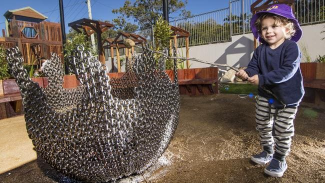 Childcare centre adding risk to play