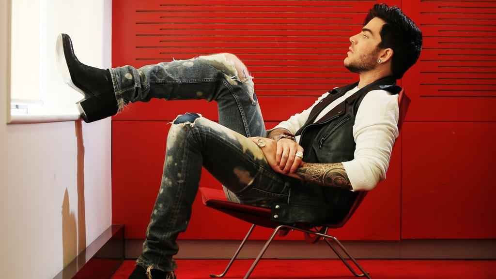 American singer Adam Lambert has been named as the third and final judge for The X Factor this year. Picture: Toby Zerna