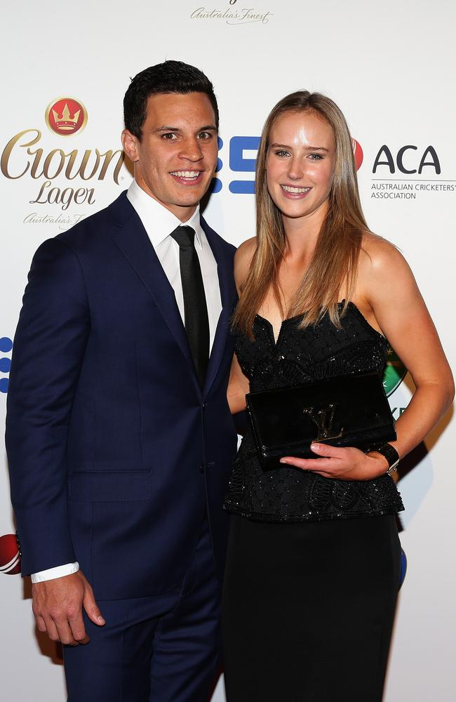 Matt Toomua and Ellyse Perry got engaged this week.