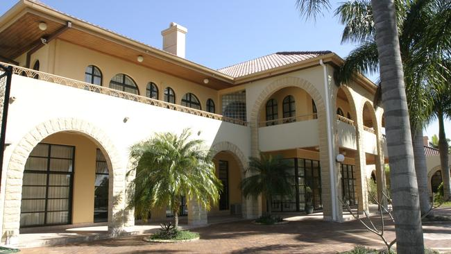 The luxury mansion has hosted some of the world's biggest stars.