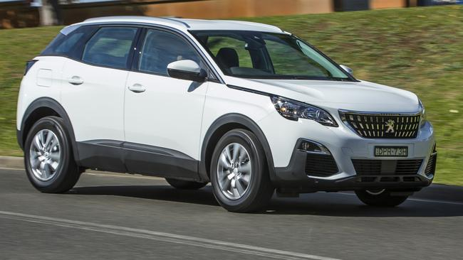 The Peugeot 3008 is the newest arrival to the compact SUV class. Picture: Supplied.