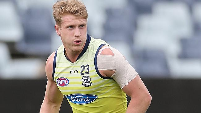 Cat Josh Caddy was solid in 2013 but has stated he wants to play a bigger role at Simonds Stadium this year.