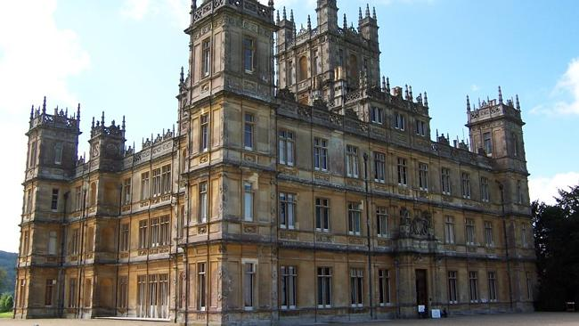 Item #1 on most people's lists is surely a dream home. This one's actually Downton Abbey. Not for sale.