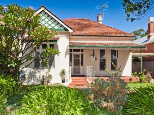 Claremont. 1910 Federation heritage Sold: March 2015.
