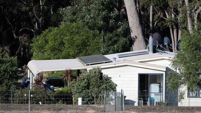 One of the homes on the Osmington property. Picture: AAP Image/Richard Wainwright.