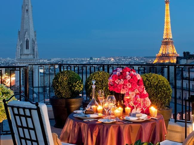 See Paris backstage. Picture: Four Seasons.