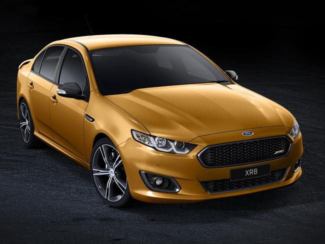 Here it is ... the final Ford Falcon to be manufactured at the Melbourne plant, the XR8.