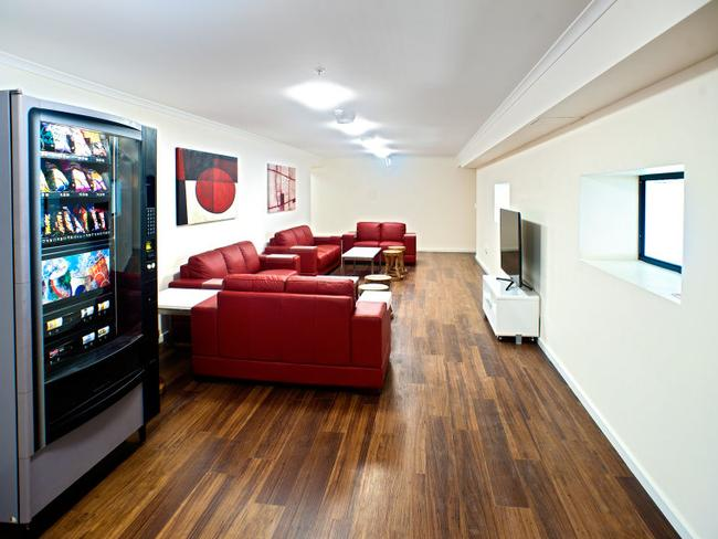 The 64-unit Camperdown complex features a shared living space. Picture: Evolve Housing