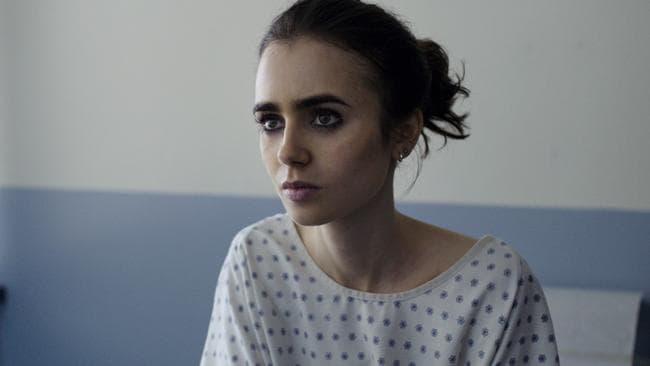 Lily Collins in a scene from 'To The Bone'. Picture: Netflix