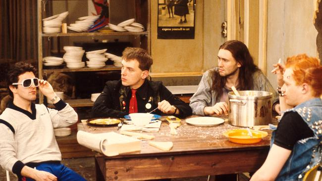 Millenials aren't willing to endure what was once a rite of passage: the revolting student share house, as illustrated in The Young Ones. (Pic: ABC TV)
