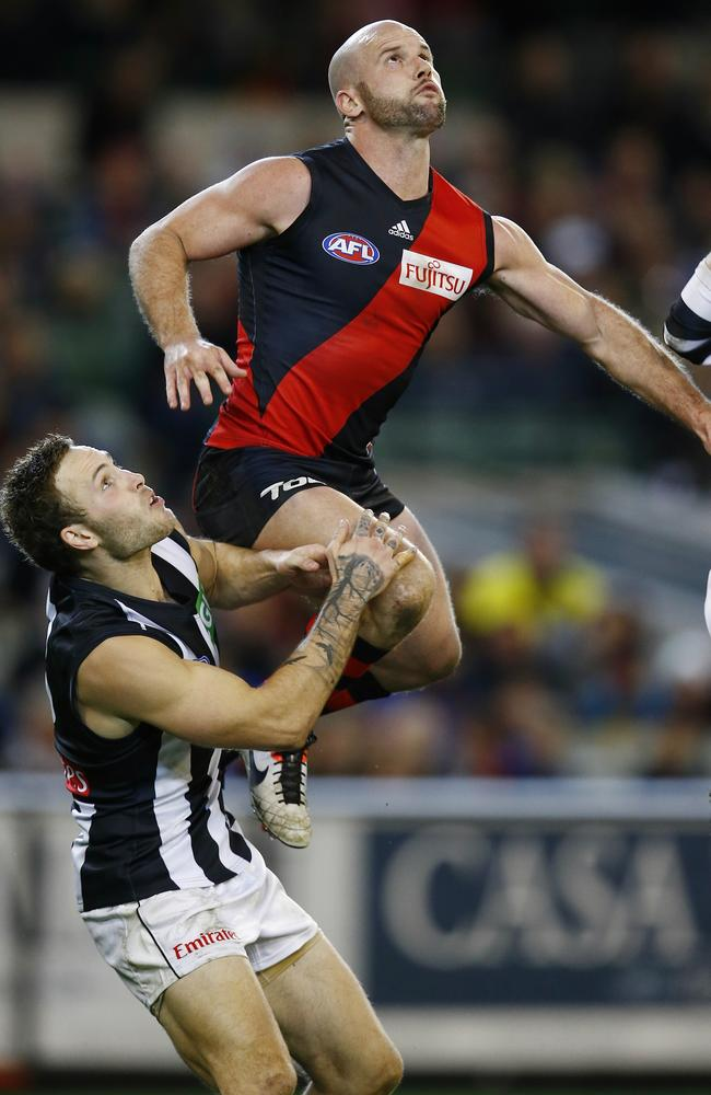 Paul Chapman's Essendon flies into the top eight. Picture: Michael Klein
