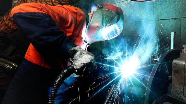 Foreign workers could be needed to fill the gap if enough high class welders are not available. Picture: Dylan Coker