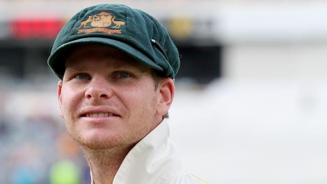 Captain Steve Smith after Australia's win on Monday.