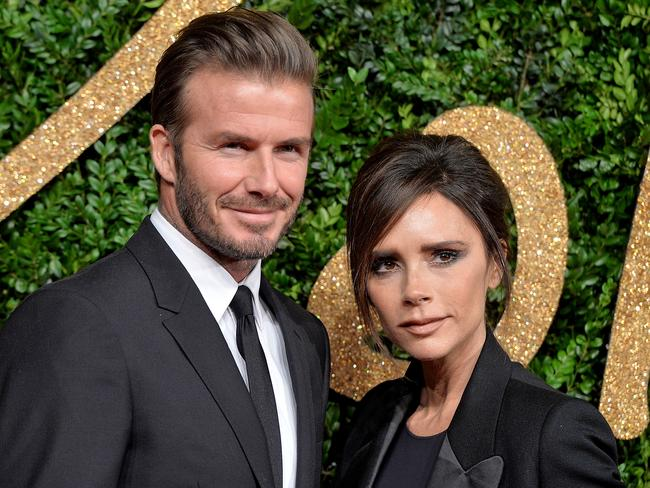 Both David and Victoria Beckham are involved in charity work. Picture: Anthony Harvey/Getty Images