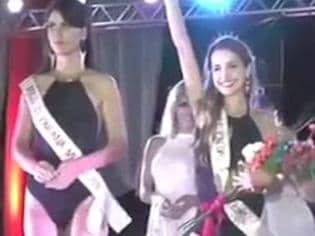 Beauty queen wrongly crowned a winner