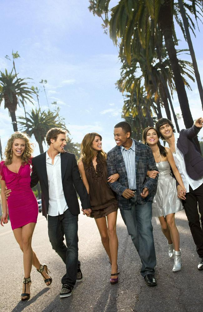 McCord (far left) with the 902010 cast.