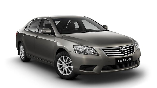 Despite the positive overall car sales figures, sales of Toyota Aurions fell 31 per cent.