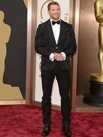Twilight hottie Kellan Lutz on the red carpet at the Oscars 2014. Picture: Getty