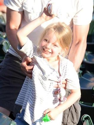 Emilie Parker was killed in the shooting at Sandy Hook Elementary School in Connecticut. Picture: Facebook / Parker family