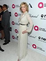 Actress Jane Fonda attends the 22nd Annual Elton John AIDS Foundation's Oscar Viewing Party. Picture: Getty