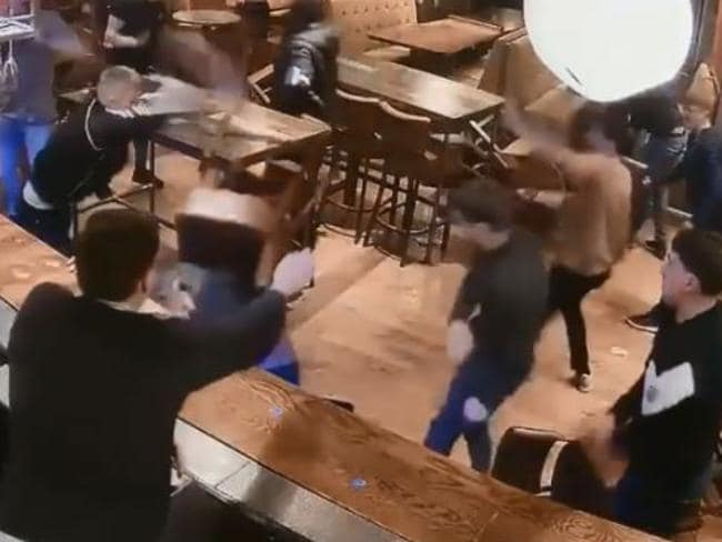 A barman tried to control the fracas. Picture: West Yorkshire Police
