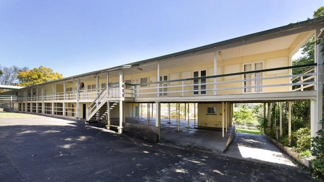 There are 25 bedrooms and a shared bathroom in the properties' dormitory.