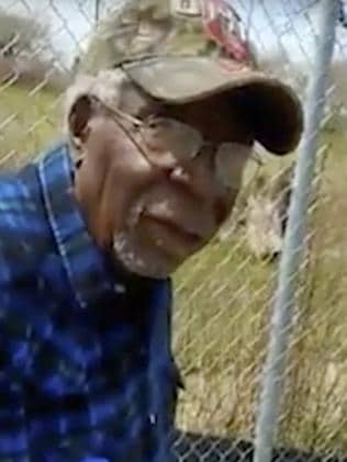 Robert Godwin Sr. moments before being fatally shot. Picture: Facebook via AP