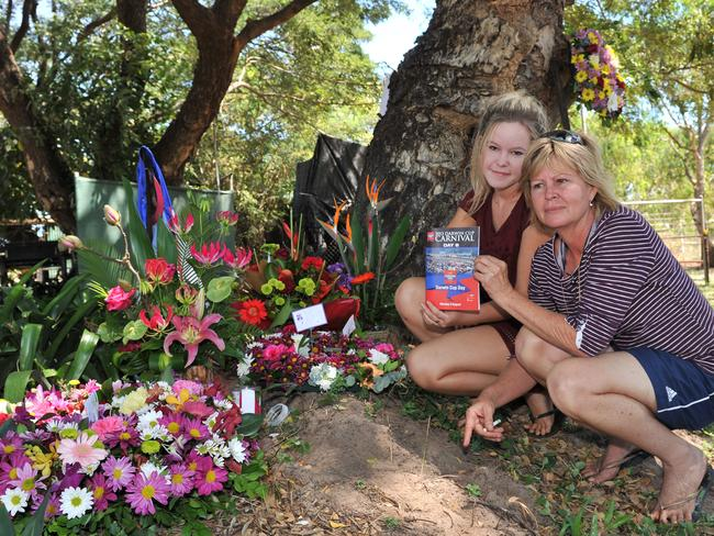 The loss of Simone Montgomerie had a profound impact on the Darwin racing fraternity, including Sharlene Clarke and her daughter Ella, who's husband Gary trained horses that Simone rode.