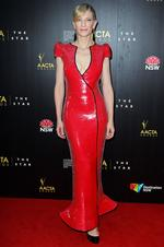 Cate Blanchett arrives at the 2nd Annual AACTA Awards at The Star on January 30, 2013. Picture: Getty