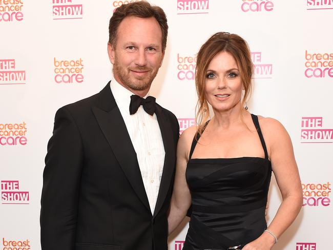 Now a mum of two, Geri married F1 principal Christian Horner in 2015. Picture: Getty