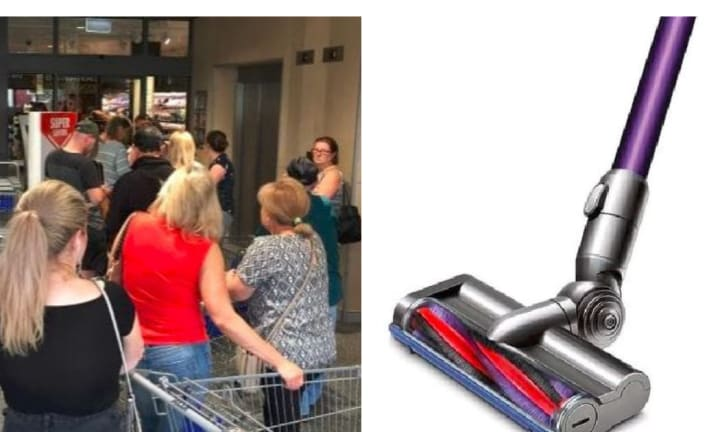 ALDI frenzy over Special Buy Dyson vacuum cleaners