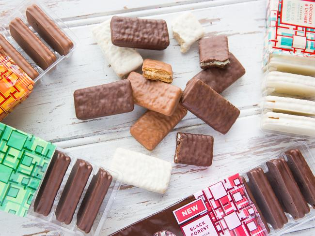 Arnott's Tim Tams and Messina Gelato joined forces earlier this year to produce four new flavours.