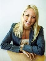 <p>Bec Cartwright, who later became Mrs Leyton Hewitt, played Hayley Lawson (1998-2005)</p>
