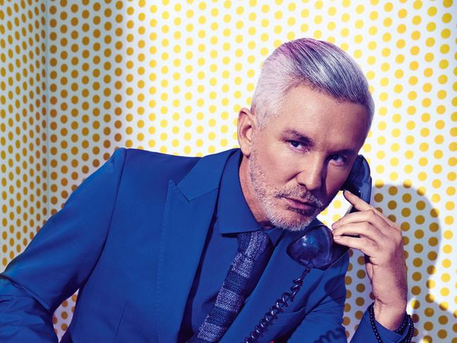 Visionary Baz Luhrmann at his photo-shoot for Sunday Style. Photo: STEVEN CHEE Styling: KELLY HUME